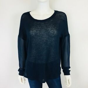 Sparkle & Fade Navy Sweater